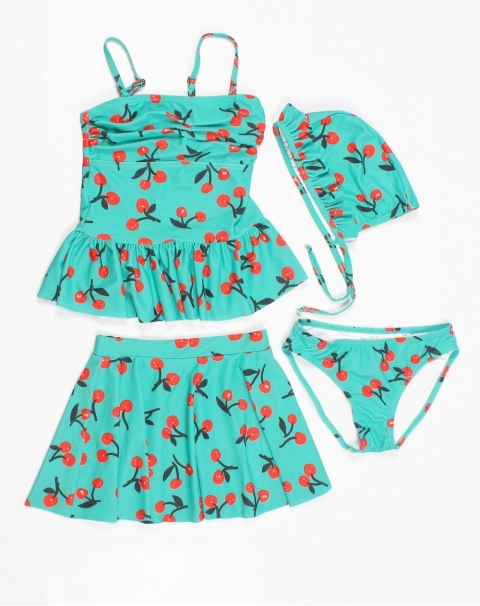 Pop up Cherry Swimwear for Baby Girl