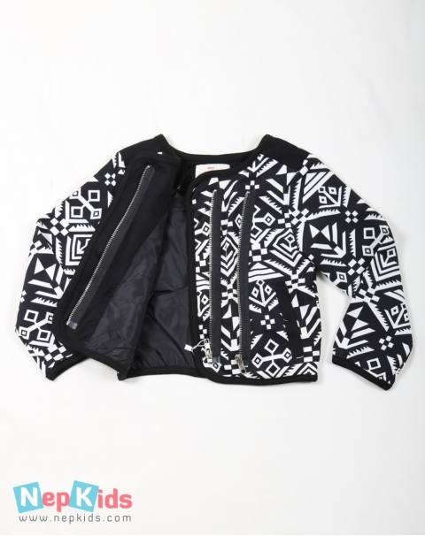 Black and White Tribal Jacket