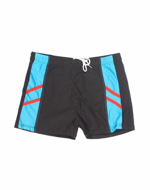 Double Strip Swim Shorts